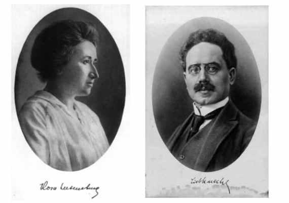 Un Ricordo Di Due Grandi Rivoluzionari Rosa Luxemburg E Karl Liebknecht